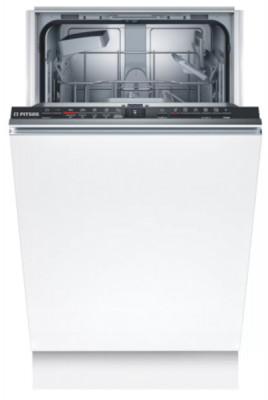 Πλυντήριο Πιάτων Εντοιχιζόμενο Pitsos 45cm DVS50X00 (Πλήρως  Εντοιχισμού)