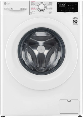 Πλυντήριο Ρούχων LG 9Kg F4WV309S3E (ατμού)