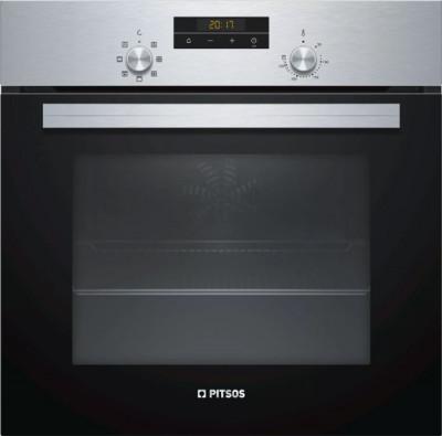 Φούρνος Εντοιχιζόμενος Pitsos PH10M40X1 Inox