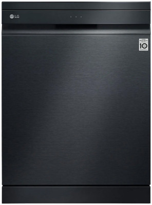 Dishwasher Lg DF425HMS Black With Steam (Wi-Fi)