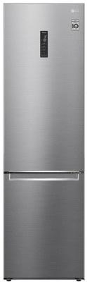 Refrigerator LG 200x60 GBB62PZHMN Shiny Silver (Wi-Fi)