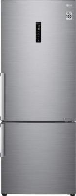 Refrigerator LG 185x70 GBB567PZCMB Silver (Wi-Fi)