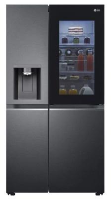 Ψυγείο LG 179x91 GSXV90MCDE Ματ Μαύρο Wi-Fi