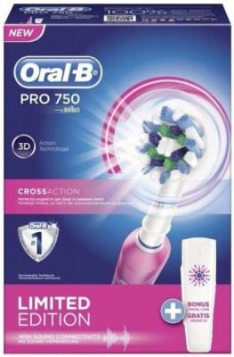 Οδοντόβουρτσα Oral-B PRO750/PINK Ροζ