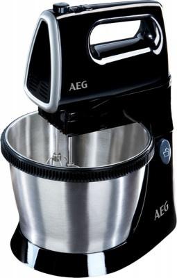 Bowl Hand Mixer Aeg SM3300 Μαύρο-Inox