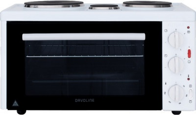 Mini Oven (3 hot plates) Davoline EC450