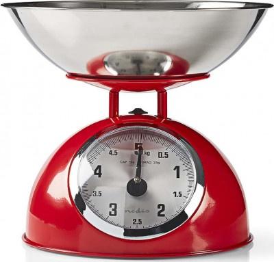 Κitchen Scale Nedis KASC-110RD Red