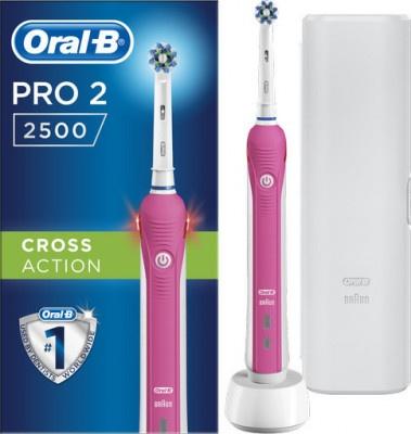 Οδοντόβουρτσα Oral-B PRO2500/P Ροζ