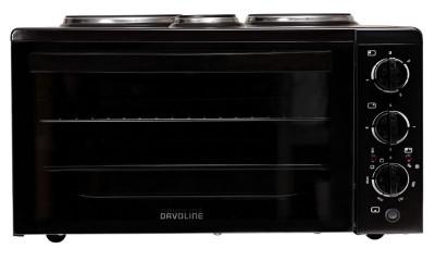 Mini Oven (3 hot plates) Davoline 4506 STAR Black