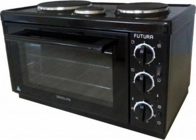 Mini Oven (3 hot plates) Davoline EC450 Black