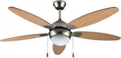 Fan 130cm Primo CF52H-5C1L Brown with Light
