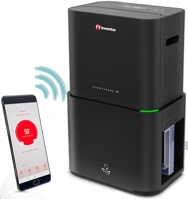Αφυγραντήρας & Καθαριστής αέρα Inventor AT-IONUV-20L με Wi-Fi & Ιονιστή