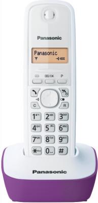 Τηλέφωνο Ασύρματο Panasonic KX-TG1611GRF Μωβ