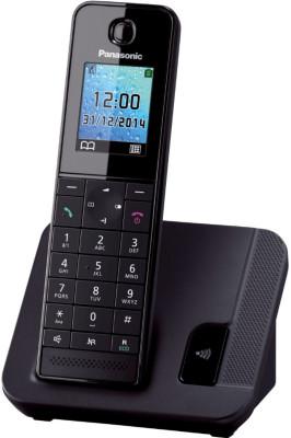 Τηλέφωνο Ασύρματο Panasonic KX-TGH210GRB Μαύρο