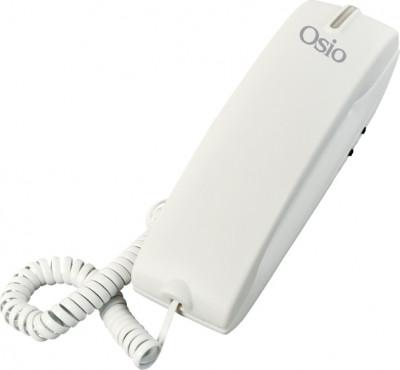 Τηλέφωνο Ενσύρματο Osio OSW-4600W Λευκό