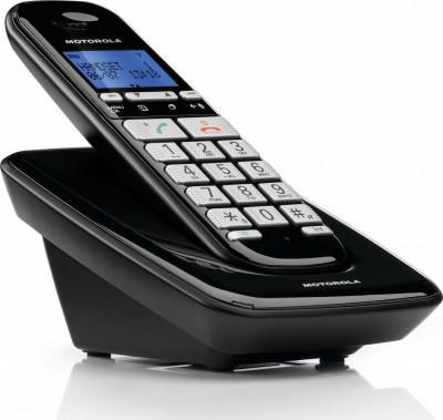 Τηλέφωνο Ασύρματο Motorola S3001B Μαύρο