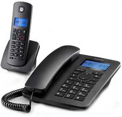 Τηλέφωνο Ασύρματο Motorola C4201 Combo