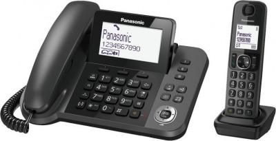 Τηλέφωνο Ασύρματο Panasonic KX-TGF310EXM Μαύρο