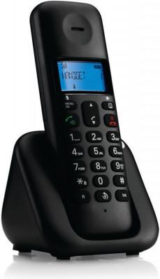 Τηλέφωνο Ασύρματο Motorola T301 Μαύρο