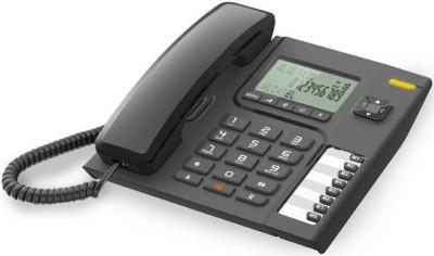 Τηλέφωνο Ενσύρματο Alcatel Temporis T76 Μαύρο