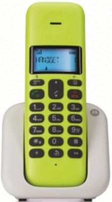 Τηλέφωνο Ασύρματο Motorola Τ301 Lemon Lime