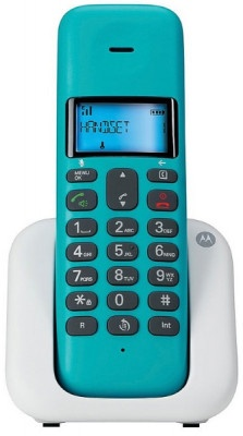 Τηλέφωνο Ασύρματο Motorola T301 Turquoise