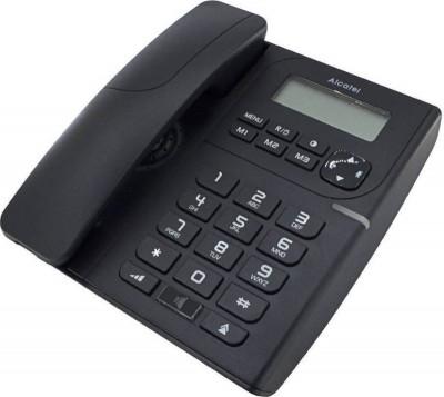 Τηλέφωνο Ενσύρματο Alcatel Temporis T58 Μαύρο