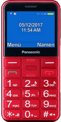 Κινητό Τηλέφωνο Panasonic KX-TU150EXR Κόκκινο