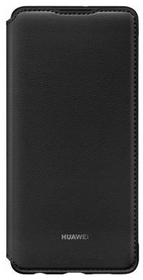 Case Flip Huawei P30 Wallet Cover Black Original