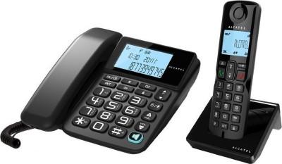 Τηλέφωνο Ασύρματο Alcatel S250 Combo Μαύρο