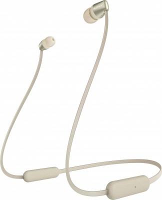 Handsfree Bluetooth Sony WIC310 Gold