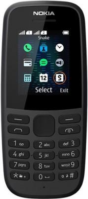 Κινητό Τηλέφωνο Nokia 105 DS 2019 Μαύρο