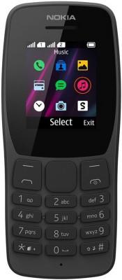 Κινητό Τηλέφωνο  Nokia 110 DS Μαύρο