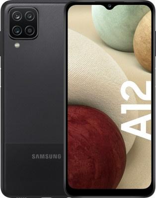 Smartphone Samsung Galaxy A12 4GB/64GB DS Black