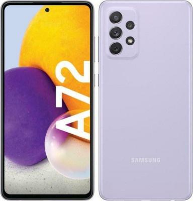 Smartphone Samsung Galaxy A72 DS A725 8GB/256GB Light Violet