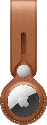 Airtag Leather Loop Apple MX4A2ZM/A Saddle Brown