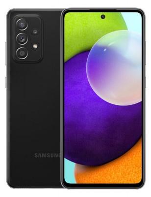 Smartphone Samsung Galaxy A52 DS 6GB/128GB Black Enterprise Edition