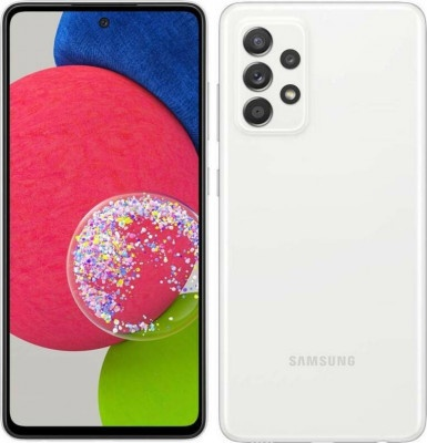 Smartphone Samsung Galaxy A52s 5G DS 6GB/128GB White