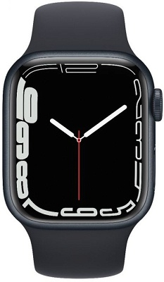 Smartwatch Apple Watch S7 41mm Midnight Aluminium Case
