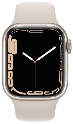 Smartwatch Apple Watch S7 41mm Starlight Aluminium Case