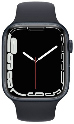 Smartwatch Apple Watch S7 45mm Midnight Aluminium Case