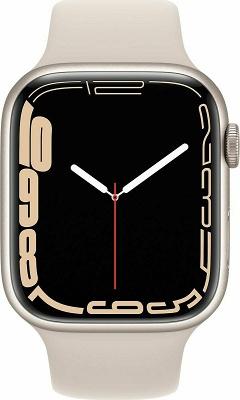 Smartwatch Apple Watch S7 45mm Starlight Aluminium Case
