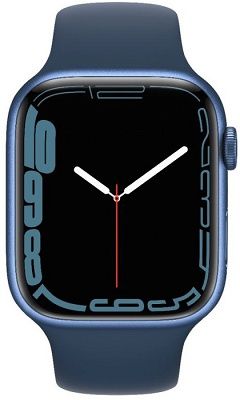 Smartwatch Apple Watch S7 45mm Blue Aluminium Case