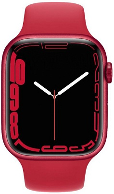 Smartwatch Apple Watch S7 45mm Product Red Aluminium Case