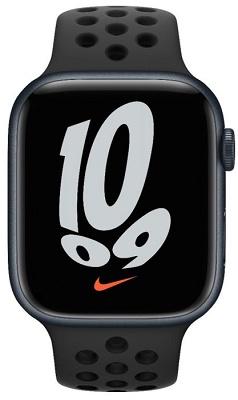 Smartwatch Apple Watch NIKE S7 45mm Midnight Aluminium Case