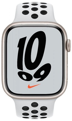Smartwatch Apple Watch NIKE S7 45mm Starlight Aluminium Case