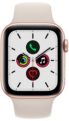 Smartwatch Apple Watch S7 44mm Gold Aluminium Case