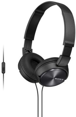 Headphones Sony MDRZX310APB Μαύρο