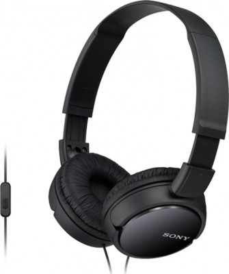 Headphones Sony MDRZX110APB Μαύρο