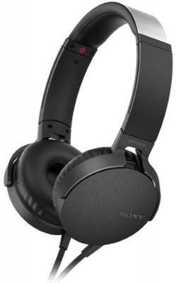 Headphones Sony MDRXB550APB Mαύρο